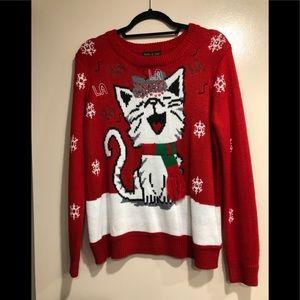 Faith and Zoe Christmas sweater size Small EUC